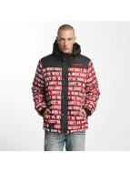 Who Shot Ya? Uniondale Winterjacket Red Camouflage