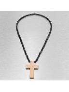 Wood Fellas Цепочка Simple Cross коричневый