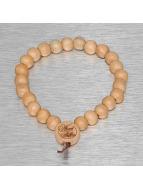 Wood Fellas Armband Deluxe Pearl beige