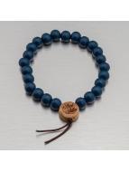 Wood Fellas Armband Deluxe Pearl blau