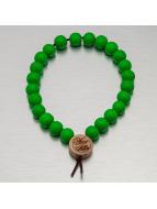 Wood Fellas armband Deluxe Pearl groen