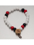 Wood Fellas armband Deluxe Pearl wit