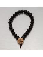Wood Fellas armband Deluxe Pearl zwart