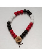 Wood Fellas Bracciale Deluxe Pearl nero