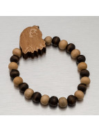Wood Fellas Bracelet Bob brun