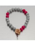 Wood Fellas Bracelet Deluxe Pearl gris