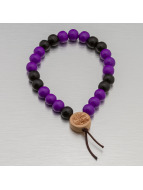 Wood Fellas Bracelet Deluxe Pearl pourpre