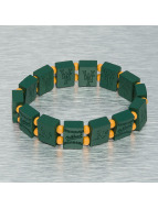 Wood Fellas Bracelet MLB Oakland Athletics Team vert