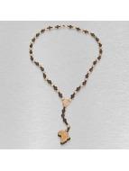 Wood Fellas Cadena Rosary Africa marrón