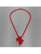 Wood Fellas Collier Wood Fellas Africa rouge