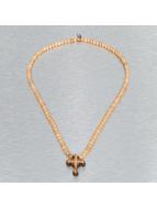Wood Fellas Colliers Celtic Cross beige