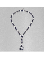 Wood Fellas Colliers MLB NY Yankees Team Rosary bleu