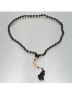 Wood Fellas Colliers Rosary Hands noir