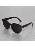 Wood Fellas Eyewear Aurinkolasit Bunutan Handmade ruskea