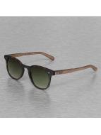 Wood Fellas Eyewear Lunettes de soleil Eyewear Schwabing Polarized Mirror brun