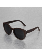 Wood Fellas Eyewear Lunettes de soleil Bunutan Handmade brun