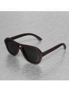 Wood Fellas Eyewear Lunettes de soleil Amed Handmade brun