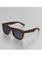 Wood Fellas Eyewear Okulary Jalo Mirror brazowy