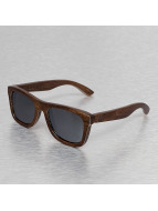 Wood Fellas Eyewear Solglasögon Jalo Mirror brun
