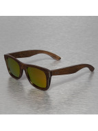 Wood Fellas Eyewear Sonnenbrille Jalo Mirror braun
