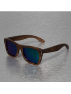 Wood Fellas Eyewear Zonnebril Jalo Mirror bruin