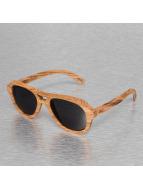 Wood Fellas Eyewear Zonnebril Amed Handmade bruin