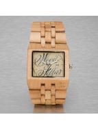 Wood Fellas horloge  bruin