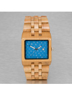 Wood Fellas horloge Wood Fellas Sanur bruin