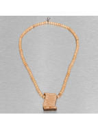 Wood Fellas Kette Psalm 23 beige