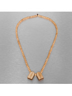 Wood Fellas ketting 10 Commandments beige