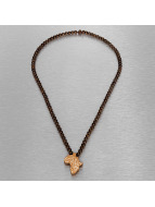 Wood Fellas ketting Wood Fellas Africa Lion bruin