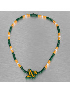 Wood Fellas ketting MLB Oakland Athletics Team groen