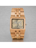 Wood Fellas Montre Sanur brun