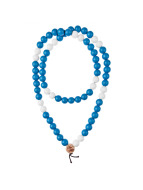 Wood Fellas Necklace Deluxe Pearl blue