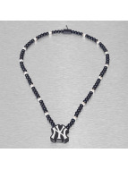 Wood Fellas Necklace MLB NY Yankees Team blue