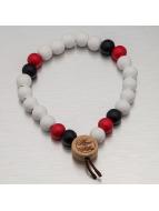 Wood Fellas Rannekorut Deluxe Pearl valkoinen