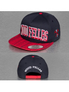 Wood Fellas Snapback Cap College blau
