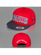 Wood Fellas Snapback Cap College rot