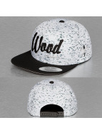 Wood Fellas snapback cap Da Wood wit