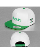 Wood Fellas snapback cap Extra Light wit