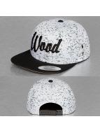 Wood Fellas Snapback Caps Da Wood valkoinen