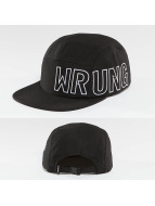 Wrung Division 5 Panel Caps Side negro