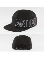 Wrung Division 5 Panel Caps Side zwart