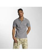 Wrung Division Camiseta polo Signature gris