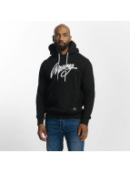 Wrung Division Hoodie Heather Sign black