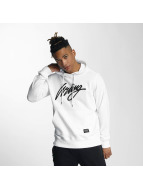 Wrung Division Hoodie Sign Embro white