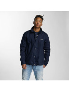 Wrung Division Lightweight Jacket Coach Snap blue