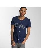 Wrung Division overhemd Hitman Baseball blauw