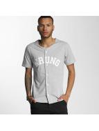 Wrung Division overhemd Hitman Baseball grijs