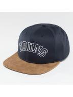 Wrung Division Snapback Cap Block blau